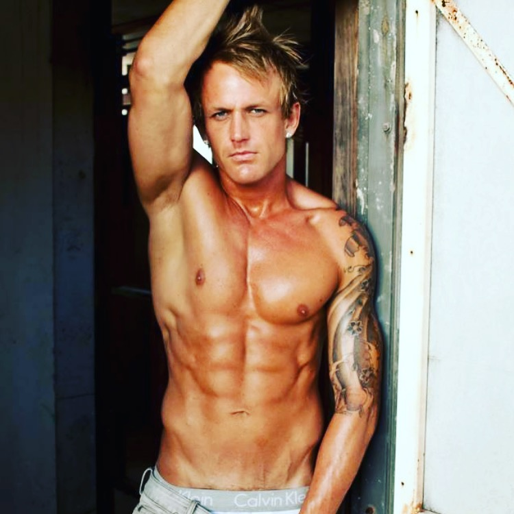Ryan - Gold Coast Male Stripper, Byron Bay Male Stripper, Brisbane Male Stripper, Gold Coast Beach Babes Male Stripper, Topless Waiter, Brisbane Male Stripper, Hens Party Stripper, Shirtless Waiter.